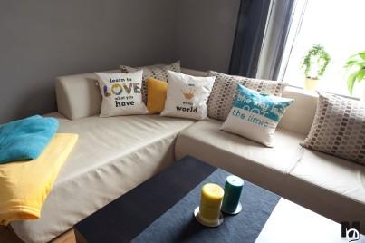 poduszki bawełniane z nadrukiem