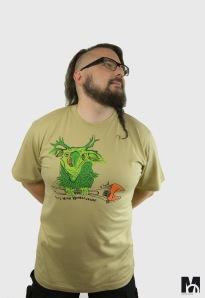 ręcznie drukowane koszulki